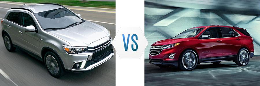 2019 Mitsubishi Outlander Sport vs Chevrolet Equinox