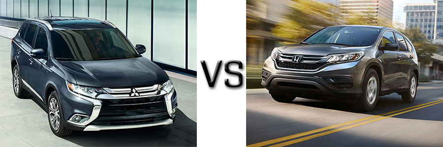 2016 Mitsubishi Outlander vs Honda CR-V
