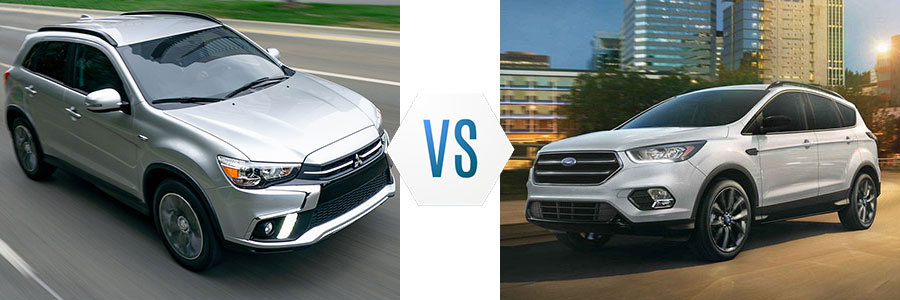 2019 Mitsubishi Outlander Sport vs Ford Escape