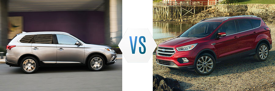 2017 Mitsubishi Outlander vs Ford Escape