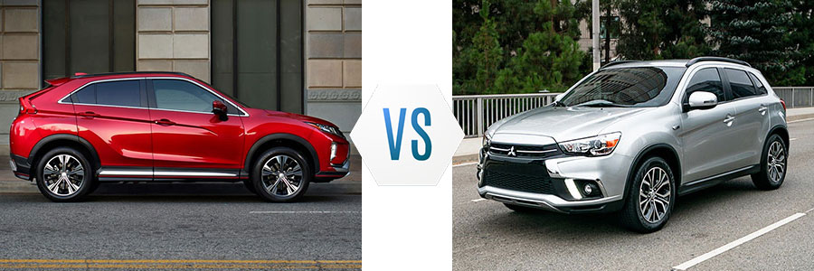 2019 Mitsubishi Eclipse Cross vs Outlander Sport